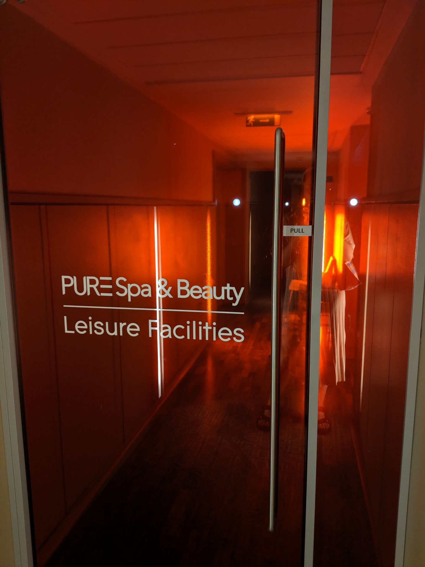 Taking some 'me' time at PURE Spa & Beauty